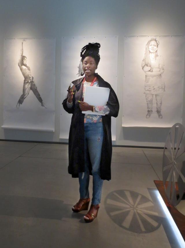 co curator Anique Jordan