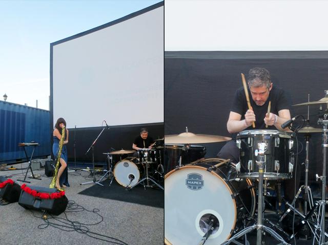 lolaa band at open roof festival toronto