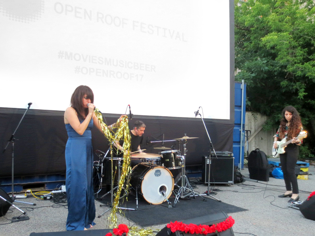 lolaa performing at open roof festival toronto