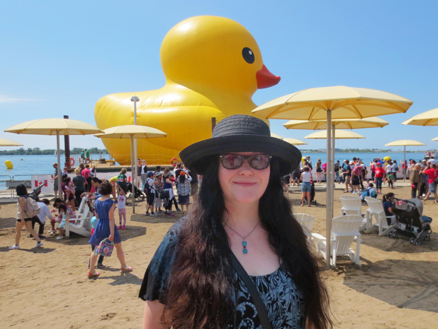 me and the big duck