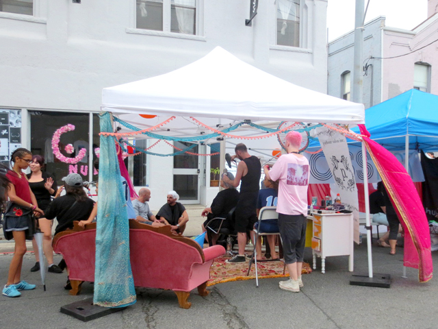 parlour salon ossington avenue toronto at ossfest street festival