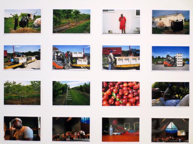 photographs in illuminated niagara falls artwork by xiong gu at ago every now then exhibition toronto