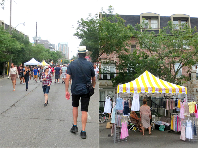 street and do goodys emporium at ossington avenue street festival toronto