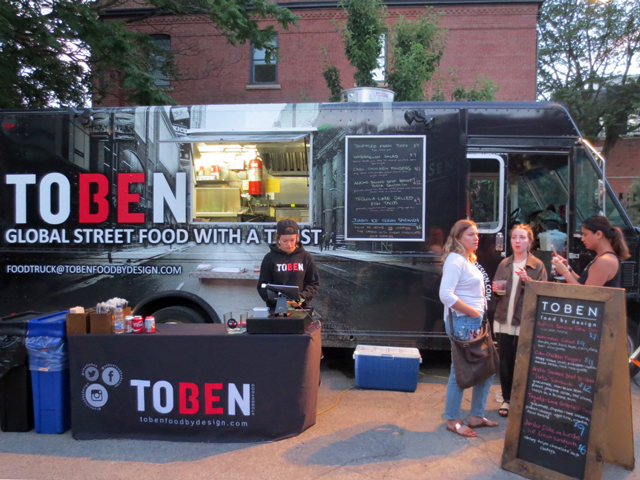 toben food by design at open roof film festival toronto