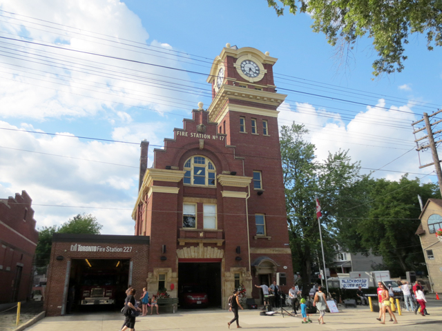 historic fire station queen street east toronto