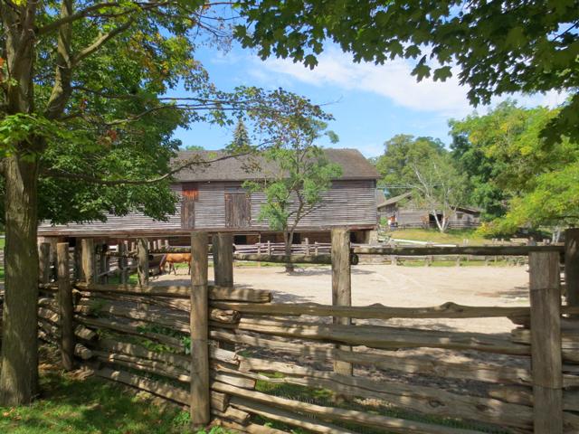 horse corral riverdale farm toronto