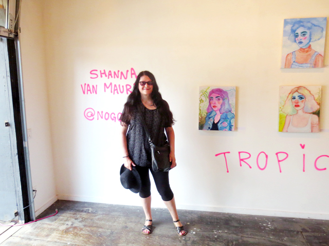 me in the gallery