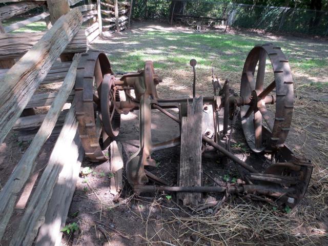 old farm equipment riverdale farm toronto
