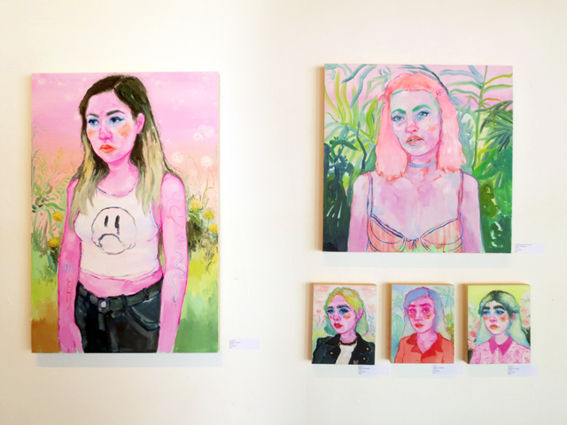 paintings by shanna van muriak at northern contemporary gallery toronto