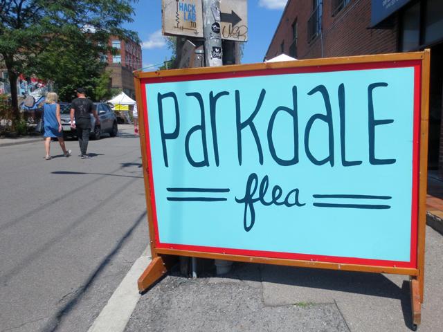 parkdale flea market toronto queen street west