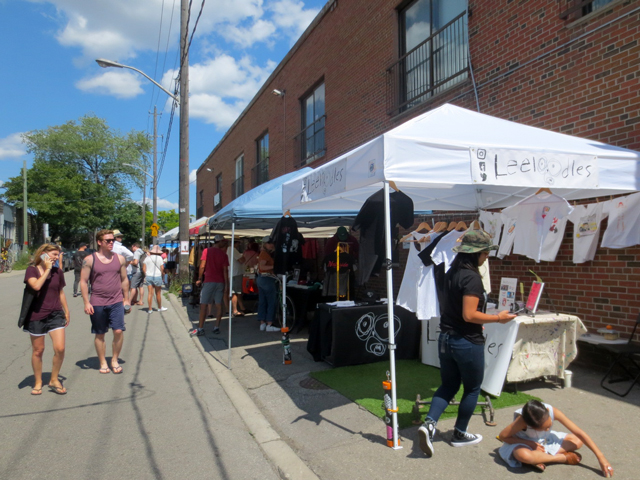parkdale flea monthly every second sunday 1266 queen street west toronto