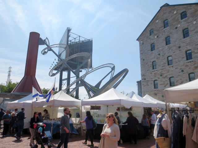 artfest ontario at distillery district toronto
