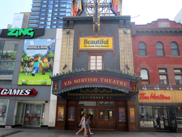 ed mirvish theatre yonge street toronto