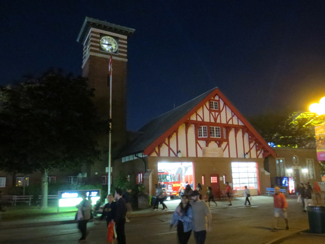 firehall at cne toronto historic building