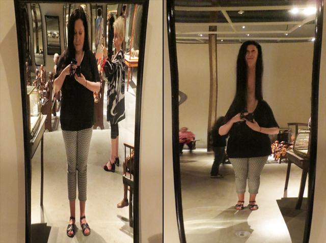 fun mirrors at power plant gallery toronto ydessa hendeles installation