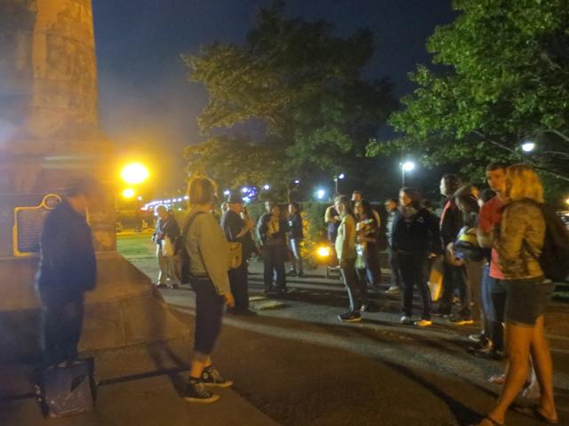 ghost walk tour at cne toronto