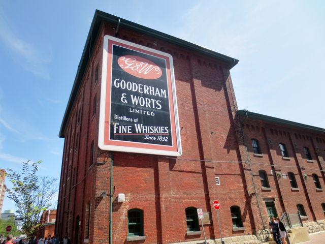 gooderham and worts historic distillery district toronto