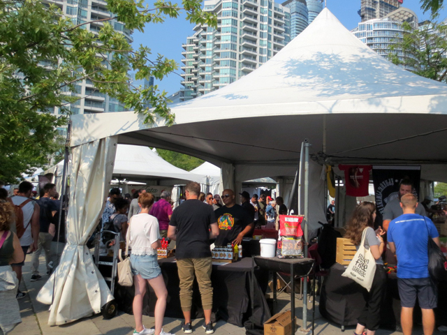 hot and spicy food festival toronto harbourfront