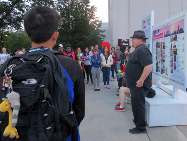 joining the ghost tour walking tour at the cne toronto