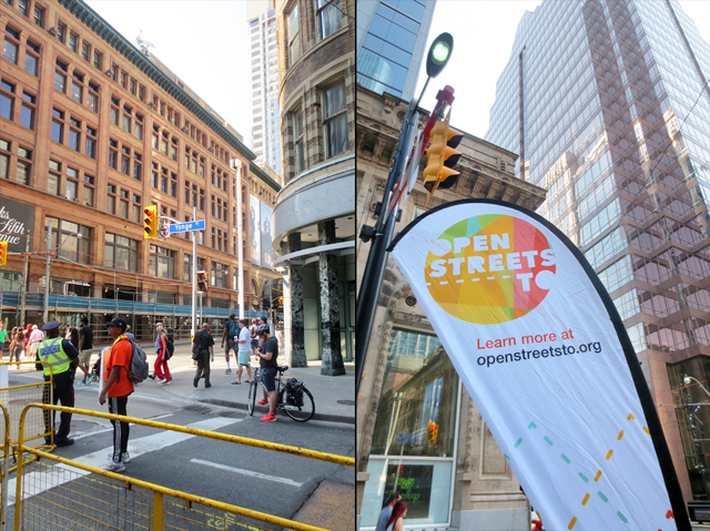 openstreetsto at queen and yonge toronto