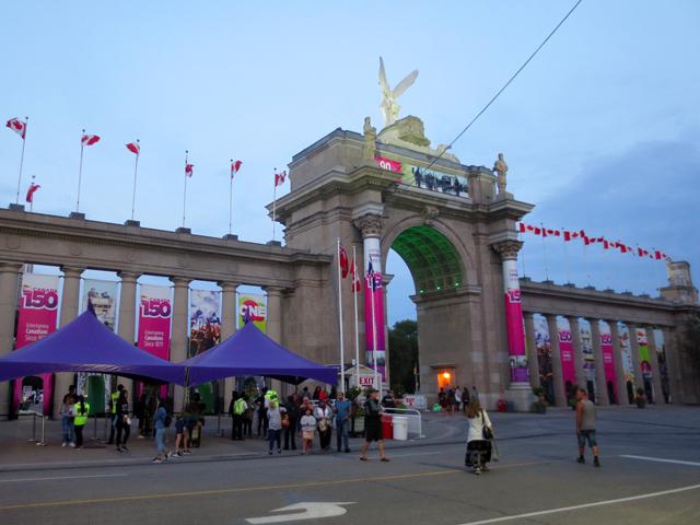 princes gates at cne toronto