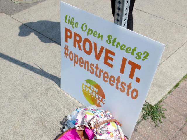 toronto open streets event sign openstreetsto