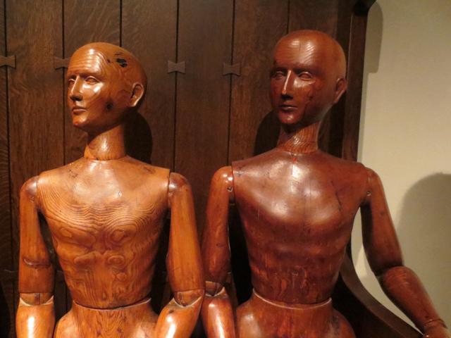 wooden mannequins ydessa hendeles art installation power plant gallery toronto