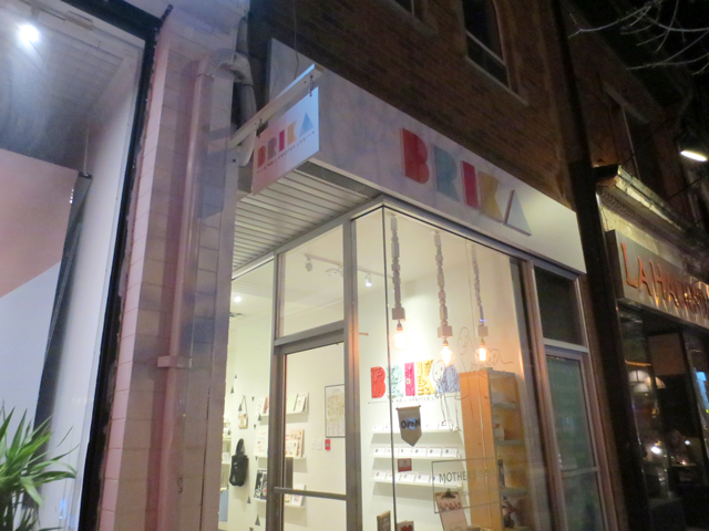 brika handmade shop queen street west toronto