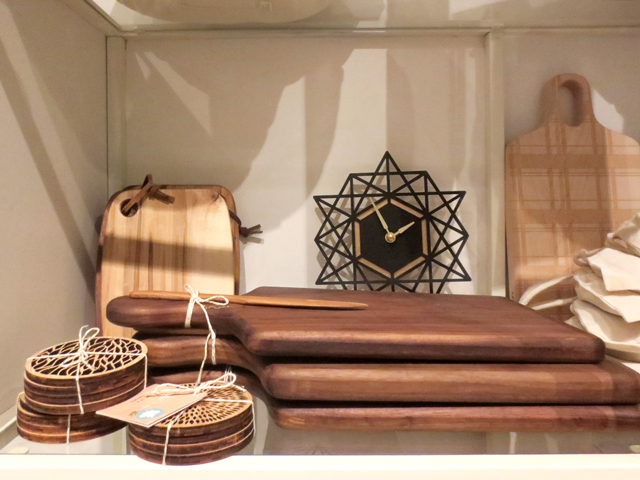 handmade wooden pieces for the home at brika queen street west toronto