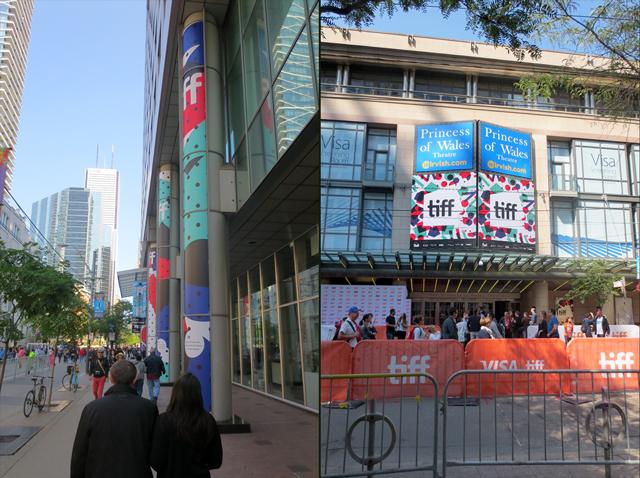 tiff in toronto king street west festival international film festival