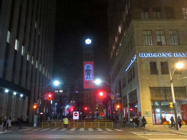 toronto nuit blanch 2017 old city hall clock tower