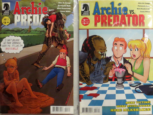 archie vs predator comics
