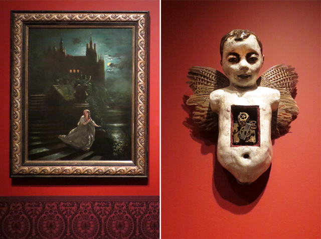 artworks in guillermo del toro at home with monsters show at ago toronto art gallery of ontario