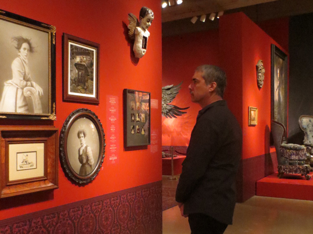 at guillermo del toro at home with monsters exhibition at ago toronto art gallery of ontario