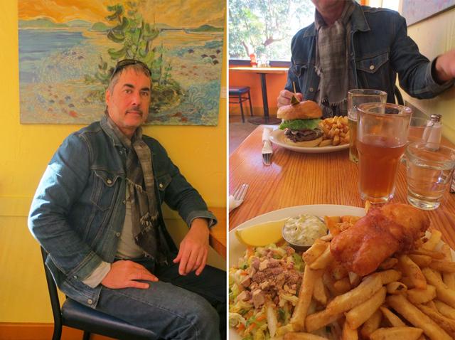 at rock salt restaurant fulford bay salt spring island canada west coast