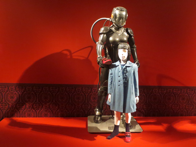 costumes from guillermo del toro movie pacific rim on display at ago toronto at home with monsters exhibition