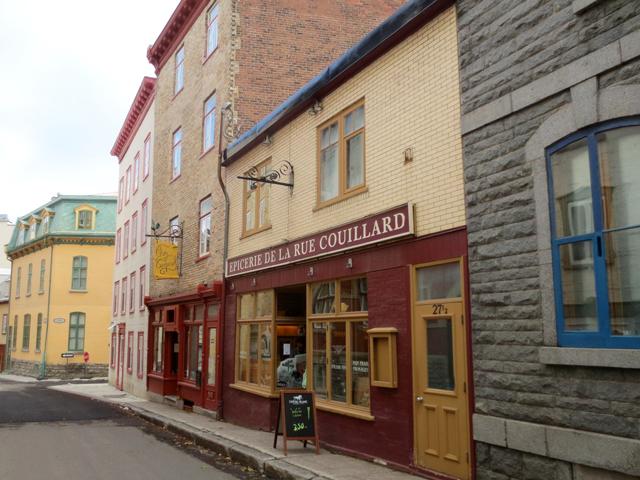 epicerie de la rue couillard old quebec city canada