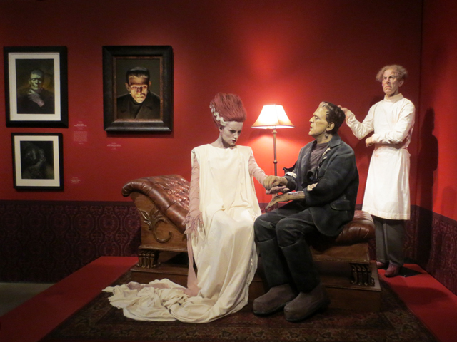 frankenstein sculpture at ago toronto guillermo del toro at home with monsters exhibition