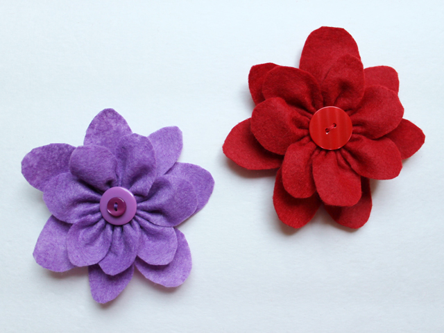 giftwrapping handmade gift bows how to make felt flowers easy