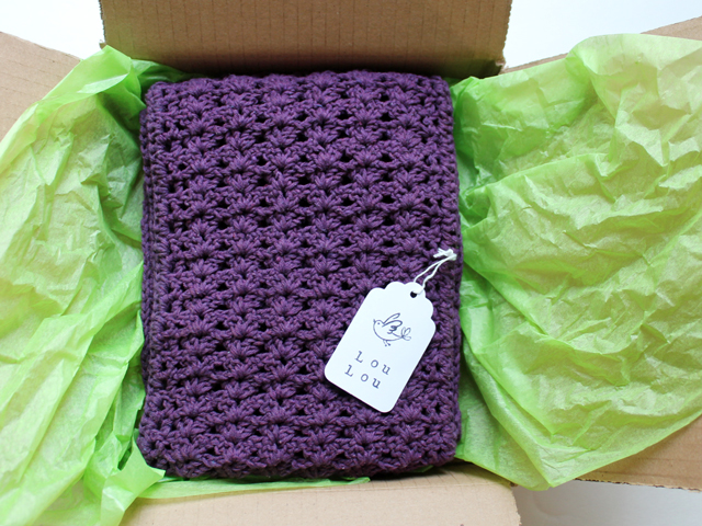 handmade gift crocheted cowl scarf made from cotton yarn