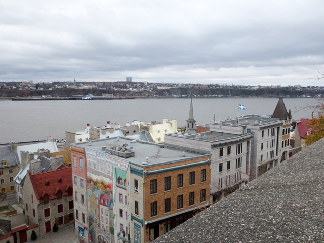 historic section quebec city canada