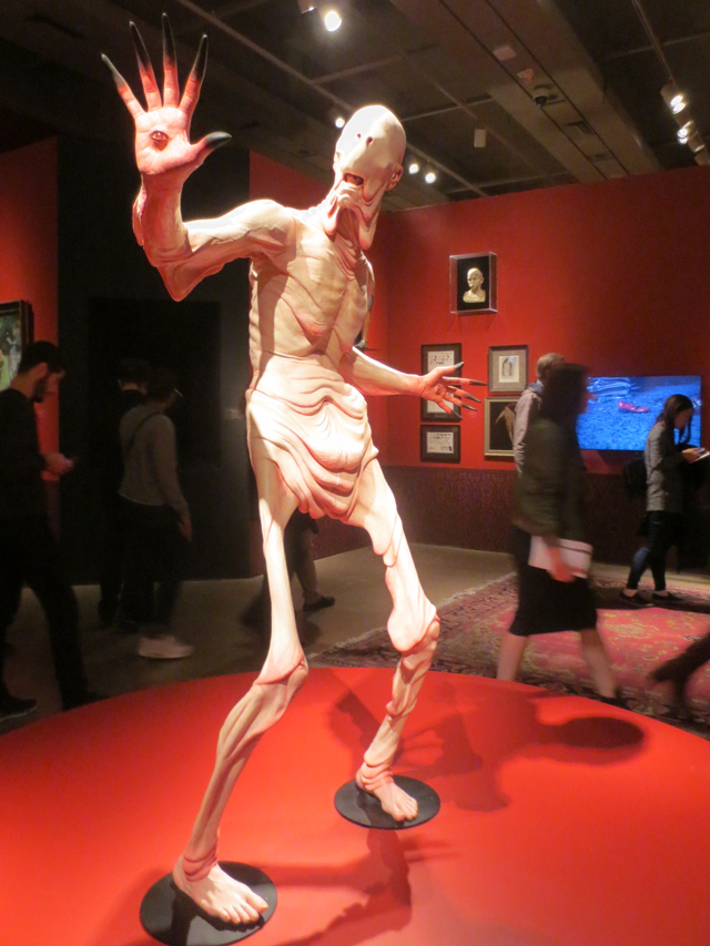 pale man from pans labyrinth at ago toronto