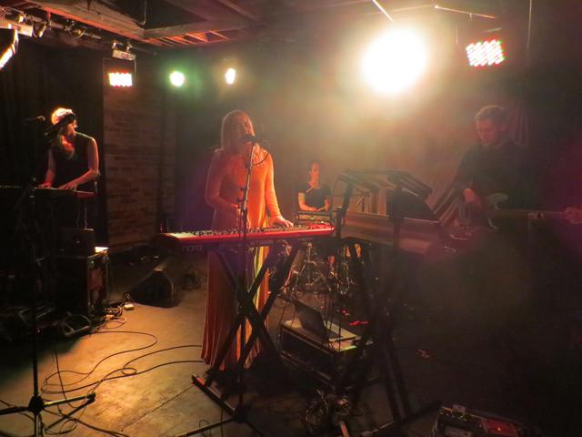 austra performing at velvet underground toronto