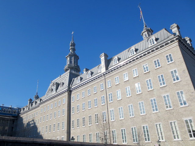 laval university building quebec city canada