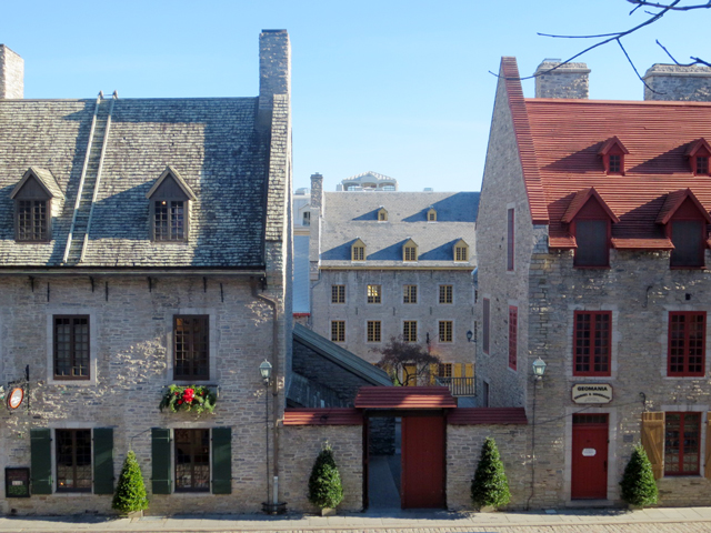 old buildings in quebec city canada