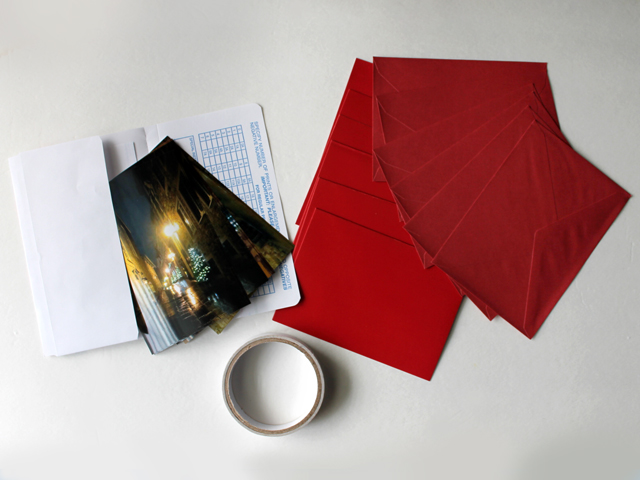 supplies for making greeting cards using your own photographs