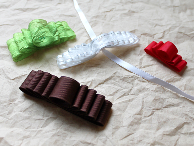 tutorial diy how to make a gift bow