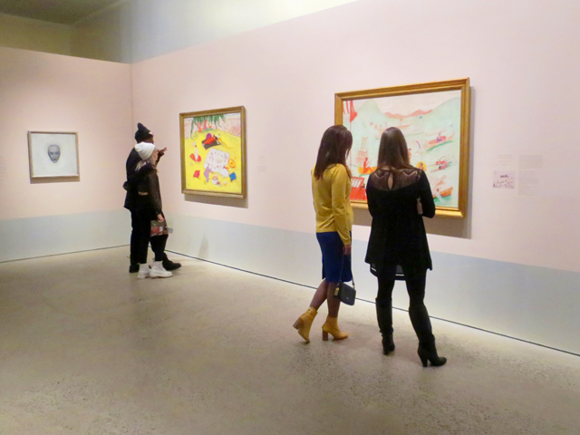 at florine stettheimer exhibition ago toronto during blank canvas give me a beat show