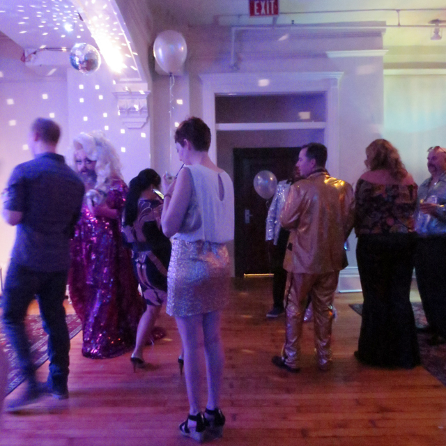 at the gladstone new years eve disco party toronto queen street west