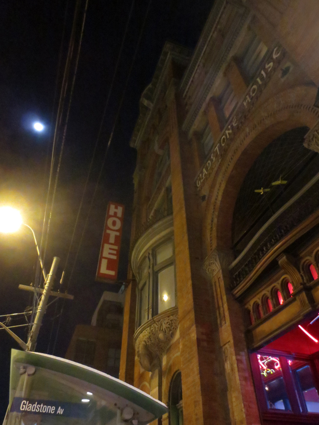 gladstone hotel queen street west toronto